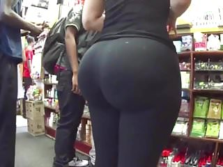Blondes Hidden Cams Voyeur video: Amazing juicy ass girls in tight spandex