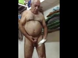 Candid posing nude mom
