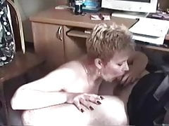 Mature Head #30 (In the Office she wants the job badly!)