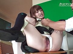 Karin Aizawa :: In Nostalgic Classroom With Tutor 2 - Cari