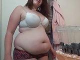 Big belly fetish #7