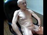 Horny bald grandpa