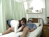 Take the wife from behind while she give a BJ to her husband
