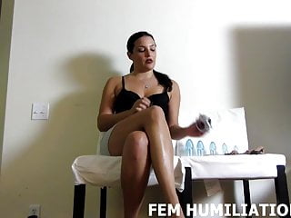 Bdsm Femdom Pov video: You are only allowed to wear womens panties from now on