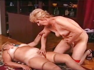 Kissing Lesbian Mature video: Girls have fun! Lesbo Hungarian Grandmas Marika and Chloe