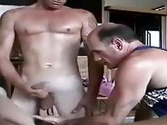 aß seinen Arsch, als er seine verdammte Frau in meinen Mund schoss