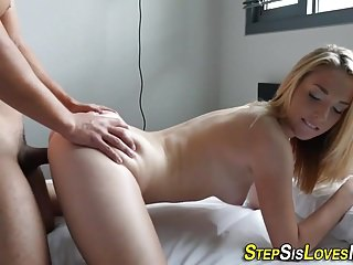 Masturbation Facials Pov video: Teen whore gets facial