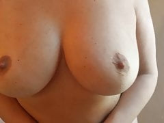 Alysha Stripping, Flashing jej Tits & Wet Pierced Pussy