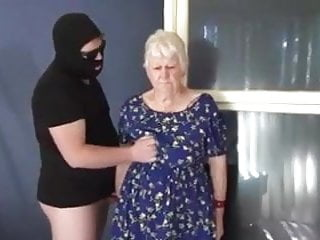 Facial Cumshot Humiliation video: Granny shared