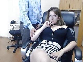 Voyeur,Webcam,Secretary