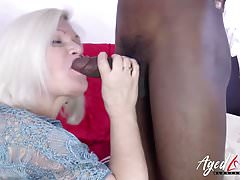 AgedLovE MILF BBC Suck and Ride