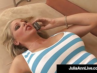 Hardcore Blonde Blowjob video: Busty Hot Milf Julia Ann Orgasms Fucking Yoga Instructor!