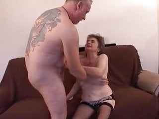 Fingering Blowjob Big Cock video: Freddie visiting Grandma Rosie