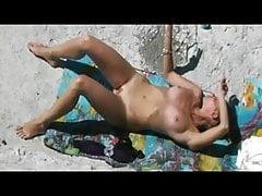 Slut na pláži