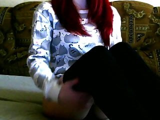 Amateur Tits Redhead video: Russian redhead teen show her beauty