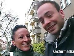 Streetcasting - Fuckgeile Aersche w Niemczech