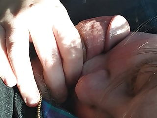 Blonde Blowjob Car vid: Taylor Moore Chokes on My Cock in my Car