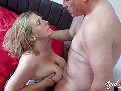 AgedLovE Camilla i Marc Kaye Hardcore Fuck
