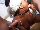 Black Shemale with Soft Limp Clit Pounded by Soft Limp Dick