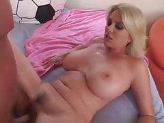 Cute Blonde MILF getting fucked hard