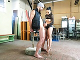 FemDom - Nicole Gives Obedient Slave a Hard Time