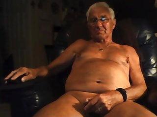 .grandpa stroke on webcam.