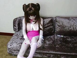 kigurumi粉色泳衣