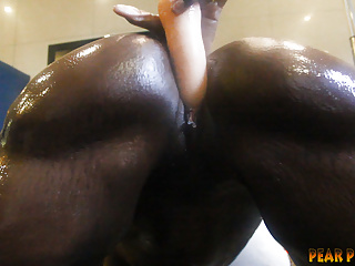 Black Big Ass Lesbian video: Athena's Sister gets Turnnnnned Out