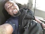 Cute Black Guy Jerks & Cums a huge load on his Lunch Break