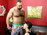 skinny little twink fucked by daddybear