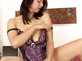 Asian Brunette Big Tits video: Mrs Khan Brown Pussy In Office 2