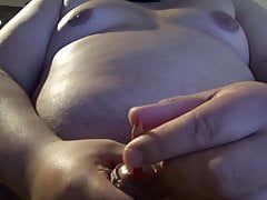 Urethral sounding and stretching and cum