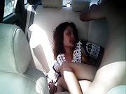 Fucking Uyghur girl in the car
