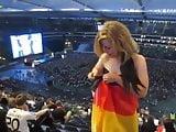 German Girl Exposing Herself