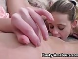 Busty amateur Sunny and Holly on masturbation