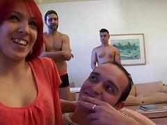 Mijn eerste DP: Pamela, ezel-maagd, geboord door twee pikken op de