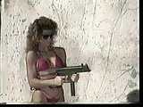 Girls Shooting Machineguns 1