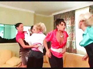 video: Catfight Lesbian Brawl