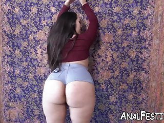 Big Cock Big Tits Big Ass video: Round ass lady Alycia Starr slammed after sucking