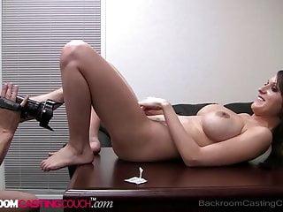 Big boobed tamber gets 1 porn facial on...