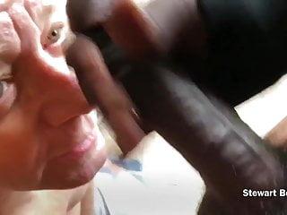 A beautiful cock throat fucks me facial...
