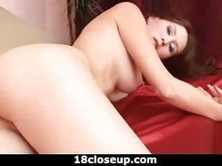 Exploring a Perfect Peach Shaped Pussy