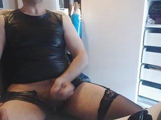 سکس گی نوار Crossdresser و استمناء با برهنگی تدریجی رقاصه وب کم استمناء دیک کوچک فیلم ماساژ HD CROSSDRESSER چربی آماتور