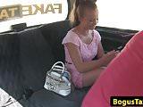 Cocksucking taxi euro babe taken for a ride