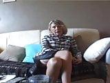 Grandma Sandra fucked by 2 blacks cocks
