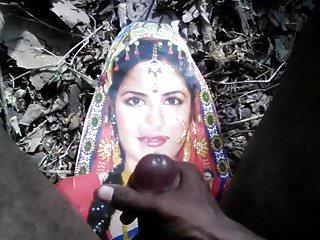 Tribute with actress katrina kaif and cumshot...