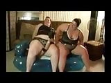 Two BBW Teach this Tiny Asian to Behave