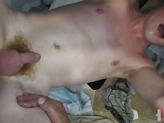 Ginger twink raw dogged and bathroom floor pov...