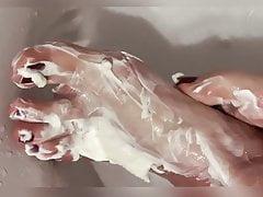 Curd on my feet - Nadine - sox4u