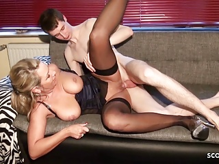 German Horny milf pound Younger Shy Virgin Man Making of Particular